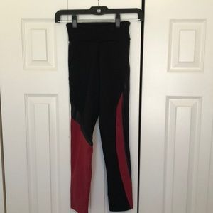 Margarita black & red leggings sz 1 59221